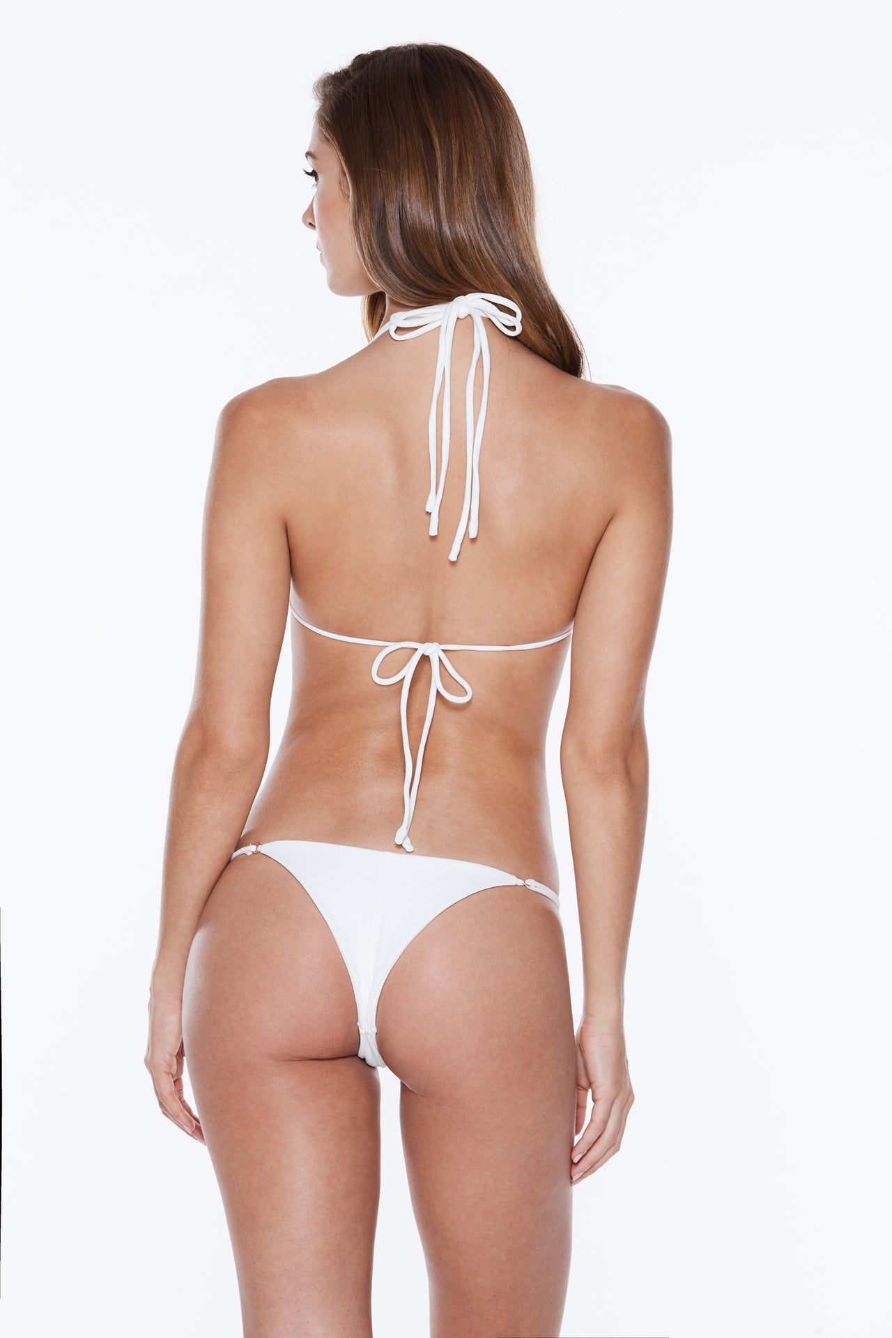 Teddy Bottom - White Rib