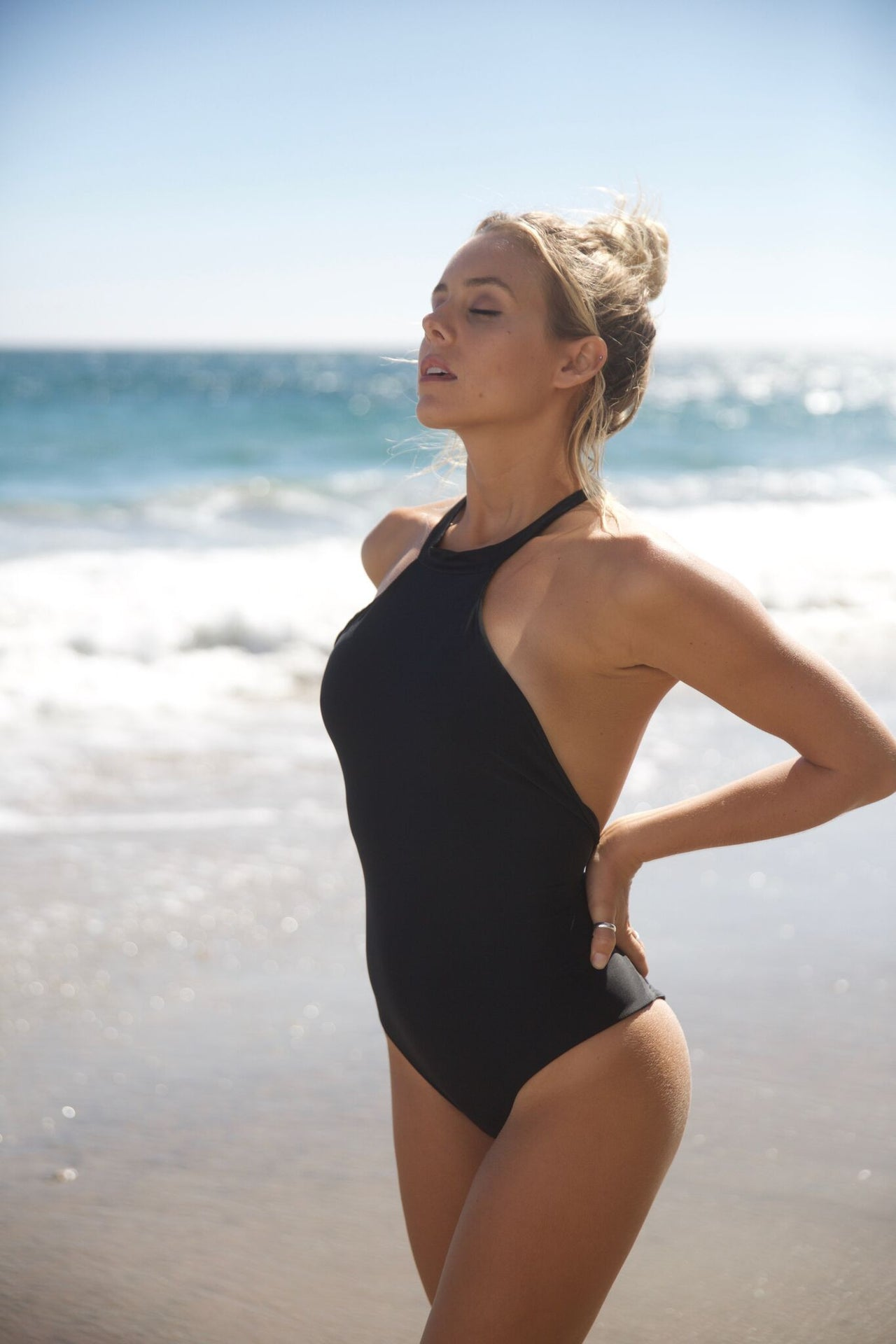Body Gloved One Piece - Black