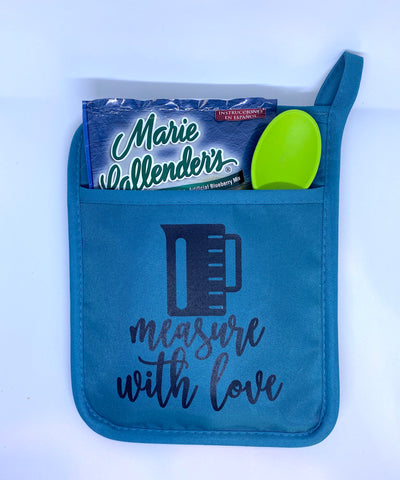 Measure With Love Hot Pad Gift Set