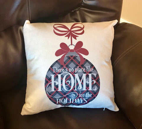 Home for the Holidays Decorative Pillow