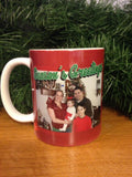 Christmas Card Photo Mug