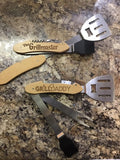 5 Piece Grill Tool Set, Engraved