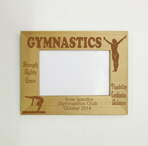 Gymnastics Picture Frame