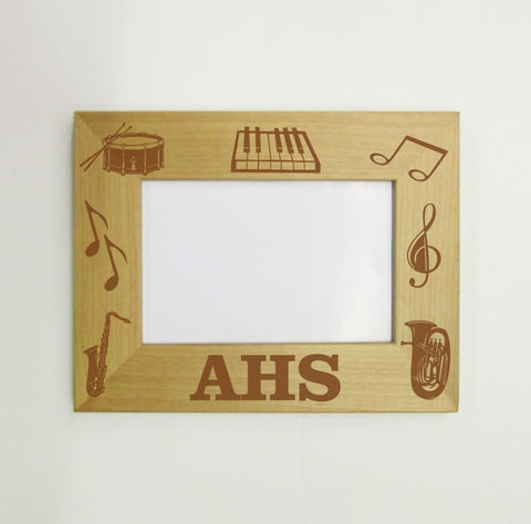 High School Band Picture Frame