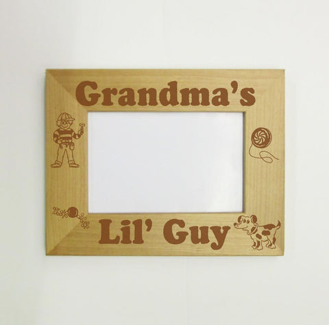 Grandpa's Lil' Guy Picture Frame