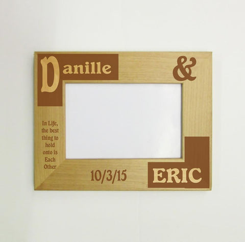 Bride and Groom Picture Frame