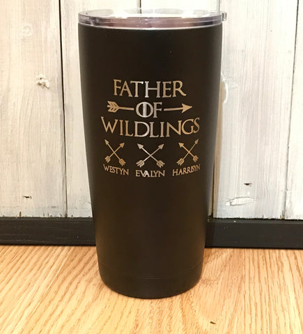 Father of Wildlings Polar Camel 20 oz Ringneck Tumbler