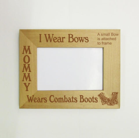 Combat Boots Picture Frame