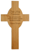 Red Alder Cross, Engraved