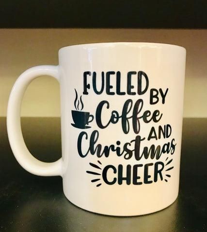 Coffee and Christmas Cheer Coffee Mug