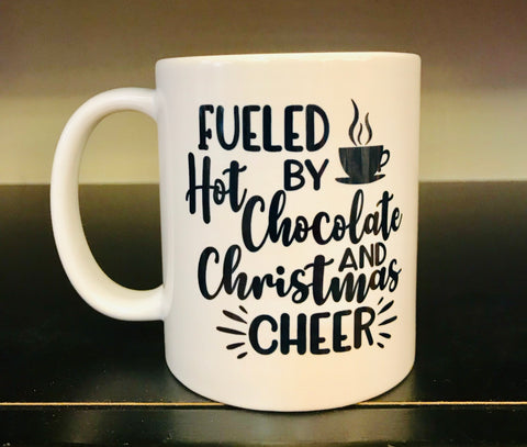 Hot Chocolate and Christmas Cheer Coffee Mug