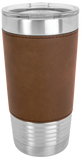 Don't Make Me Use My Mommy Voice 20 oz Leatherette Polar Camel Tumbler