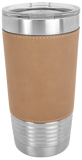 Just Enjoy Today 20 oz Leatherette Polar Camel Tumbler