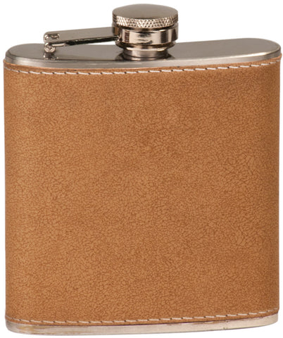 Flask, 6oz Leather