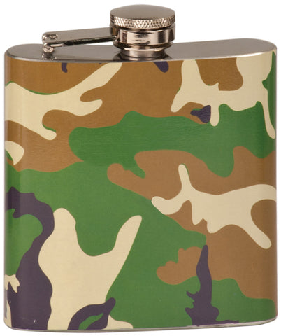 Flask, 6oz Camouflage