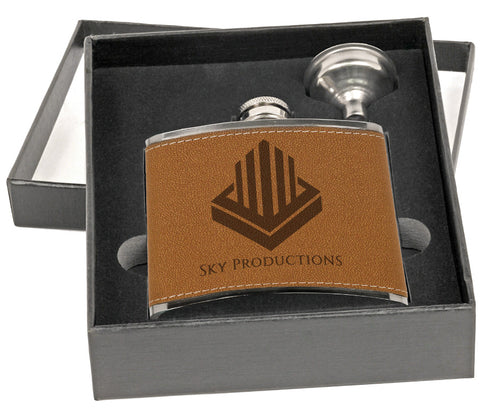 Flask, 6oz in Presentation Box