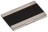 Business Card Holder, Engraved Metal