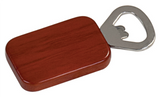 Magnetic Rectangle Bottle Opener, Engraved