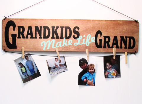 Grandkids Make Life Grand Picture Board
