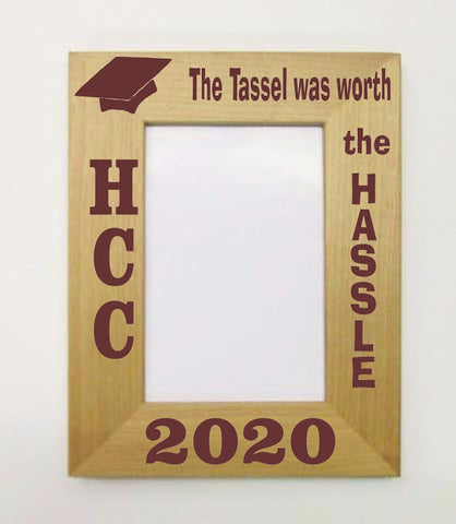 The Tassle Was Worth the Hassle Picture Frame