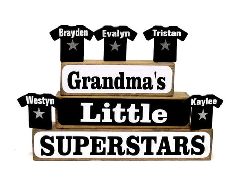 Little Superstars Family Block Set
