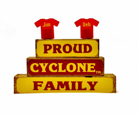 Proud Cyclone Family Block Set