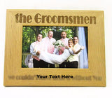 Groomsmen Picture Frame