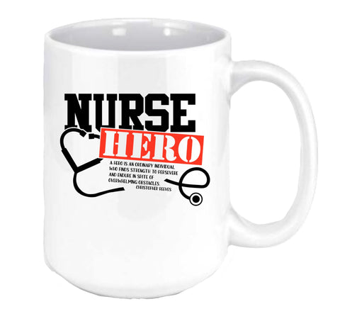 Nurse Hero Coffee Mug