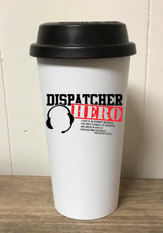 Dispatcher Hero Tumbler