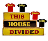 House Divided Block Set