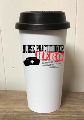 Nurse Practitioner Hero Tumbler