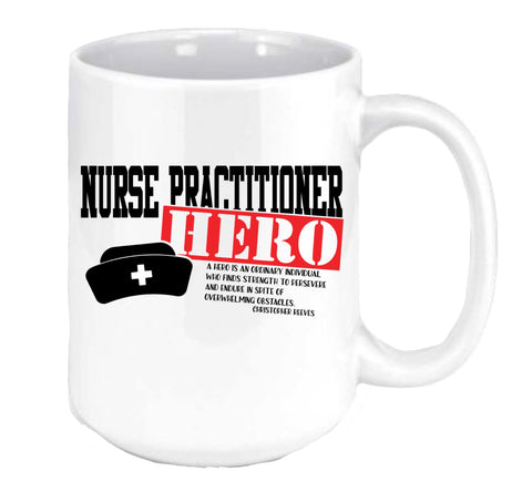 Nurse Practitioner Hero Coffee Mug