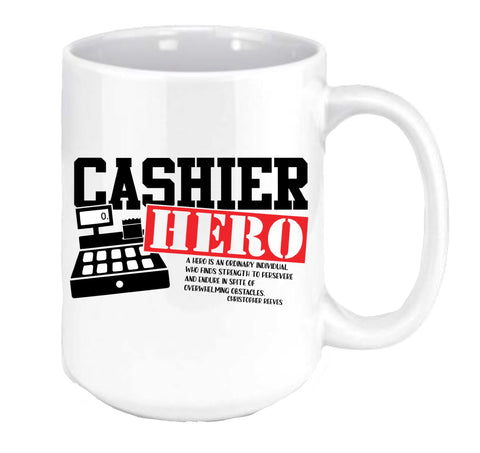 Cashier Hero Coffee Mug