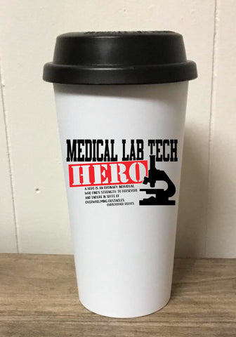 Med Lab Tech Hero Tumbler