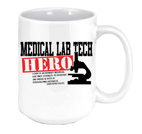 Med Lab Tech Hero Coffee Mug