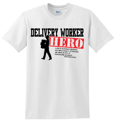 Delivery Worker Hero T-Shirt