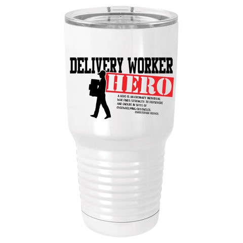 Delivery Worker Hero Polar Camel Tumbler