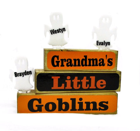Little Goblins Family Block Set