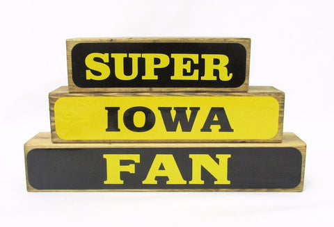 Super Iowa Fan Block Set