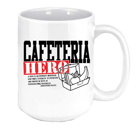 Cafeteria Hero Coffee Mug