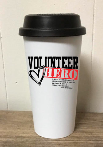 Volunteer Hero Tumbler