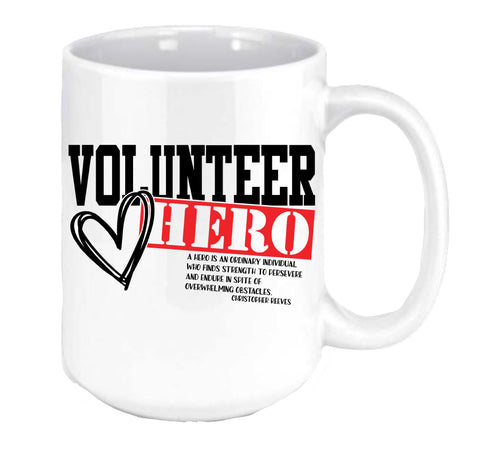 Volunteer Hero Coffee Mug