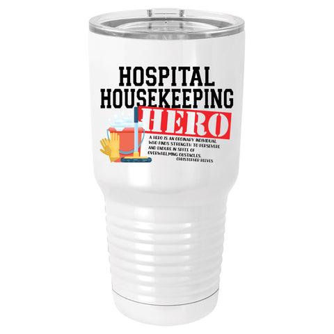 Hospital Housekeeping Hero Polar Camel Tumbler
