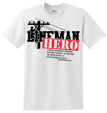 Lineman Hero T-Shirt