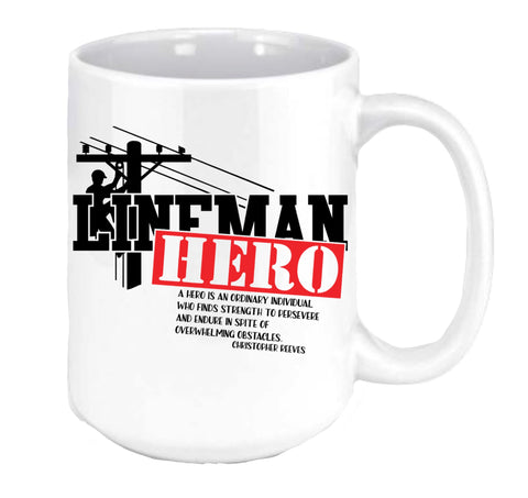Lineman Hero Coffee Mug