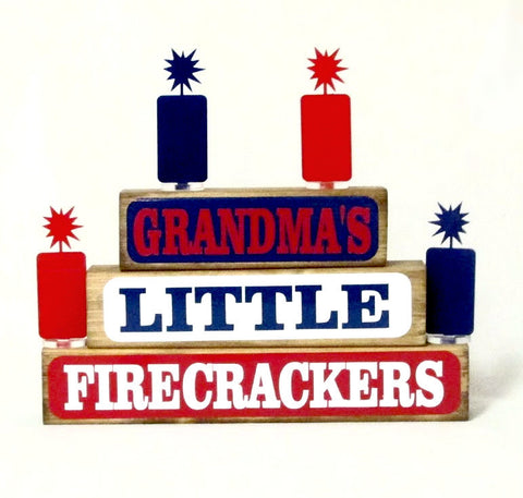 Little Firecrackers Family Block Set