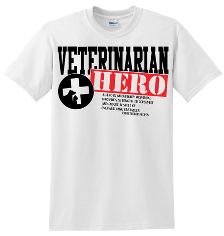 Veterinarian Hero T-Shirt