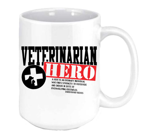 Veterinarian Hero Coffee Mug