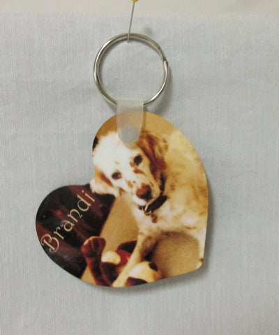 Heart Key Ring, Pet Lovers