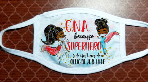 Face Mask - CNA Super Heroes
